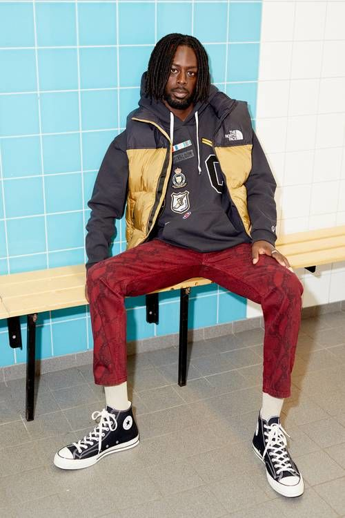 Collegiate-Themed Streetwear Lookbooks