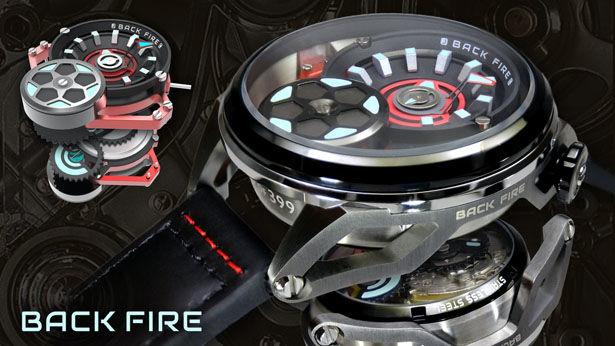 Automotive Transmission Timepieces