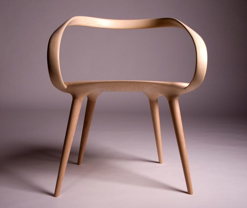 Deconstructed Backless Chairs
