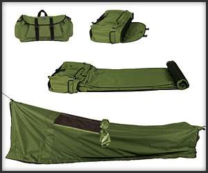 Convenient Camping Gear : Backpack Bed
