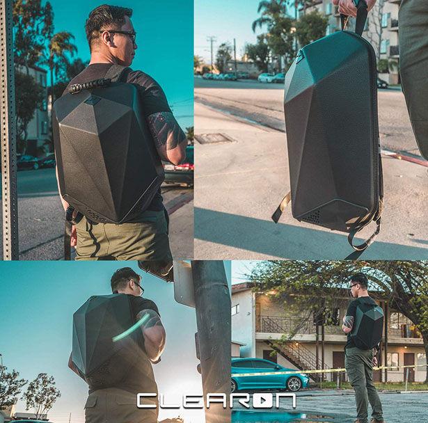 Prismatic Beat-Blasting Backpacks