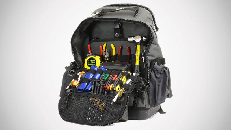 DIYer Tool-Filled Backpacks