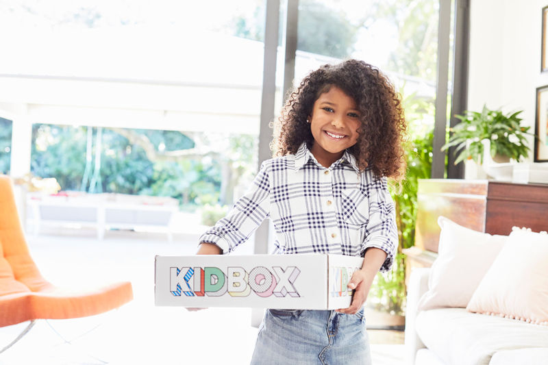 Kid-Targeted Personalized Clothing Boxes