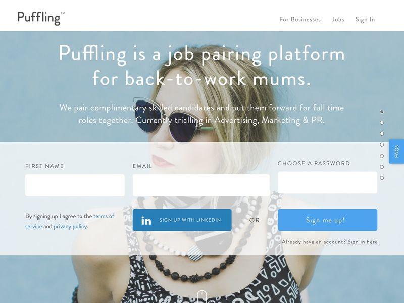 Postpartum Job Platforms