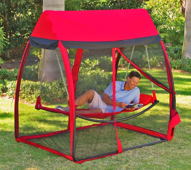 Bug Stopping Backyard Hammocks