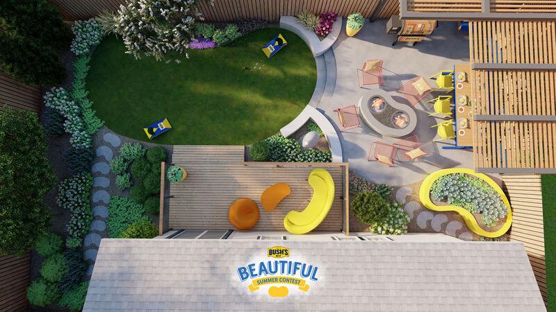 Bean-Themed Backyard Makeovers