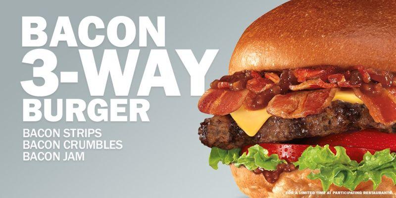 Triple Bacon Burgers