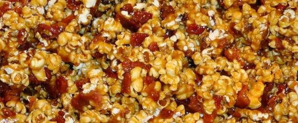 Liquored Popcorn Snacks