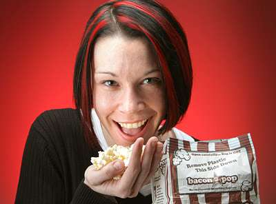 Bacon-Flavored Popcorn