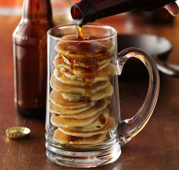 Beer-Infused Pancakes