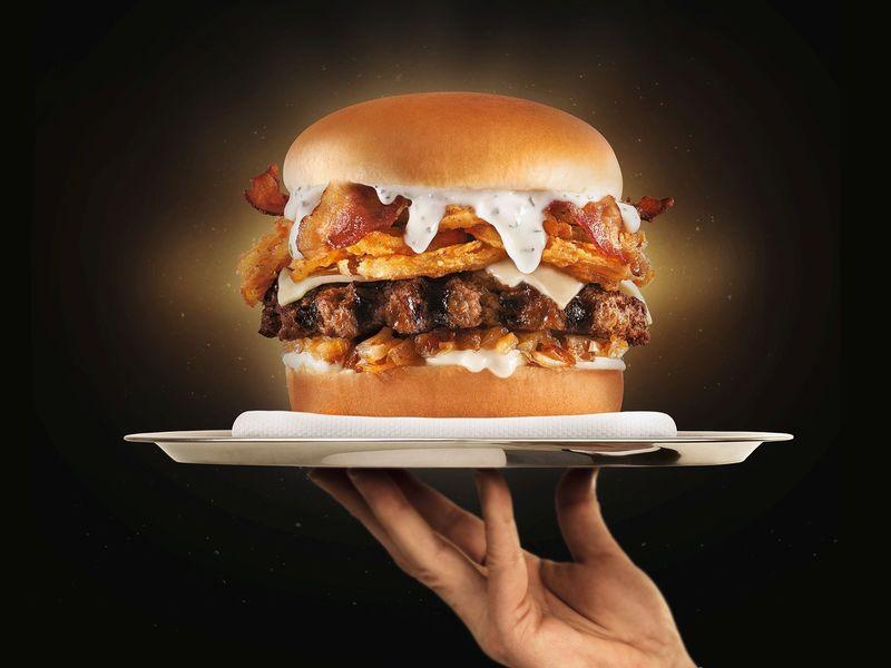 Truffle Sauce-Covered Burgers