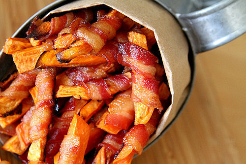 Bacon-Wrapped French Fries