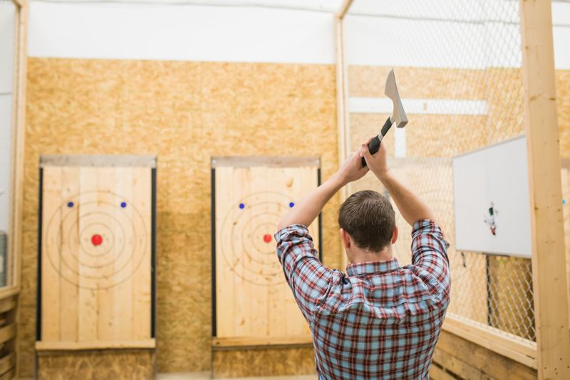 Competitive Axe Throwing Clubs