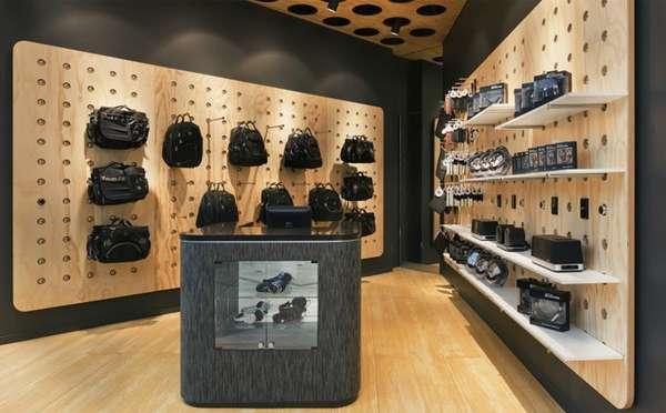 Perforated Wall Displays Badass Store