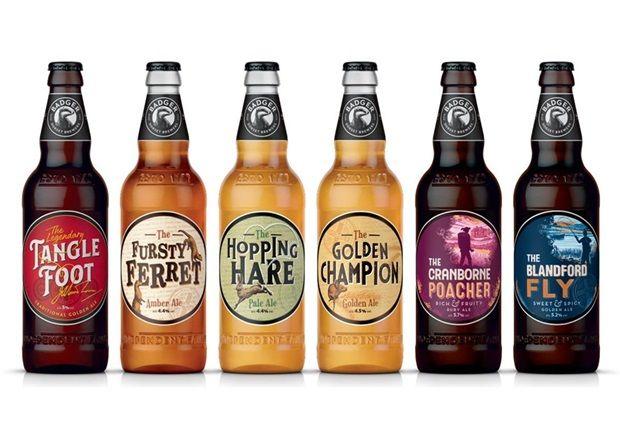 Heritage-Honoring Beer Branding