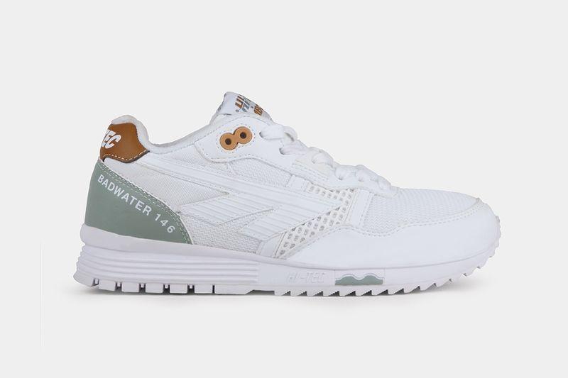 All-White Marathon Running Shoes
