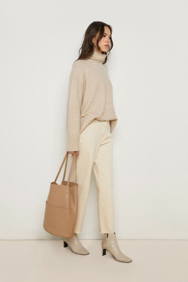 Slouchy Open Tote Bags