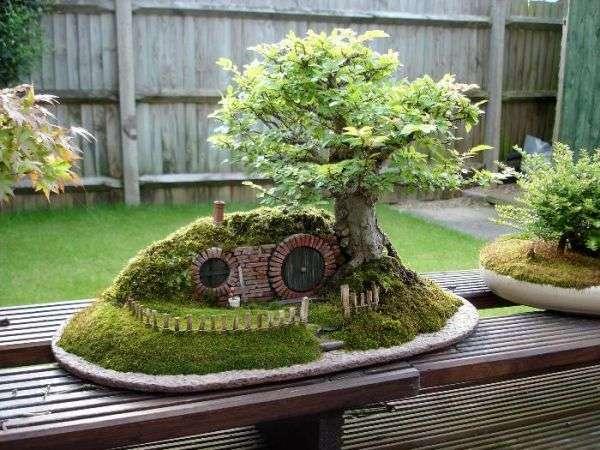 Lush Mini Hobbit Homes