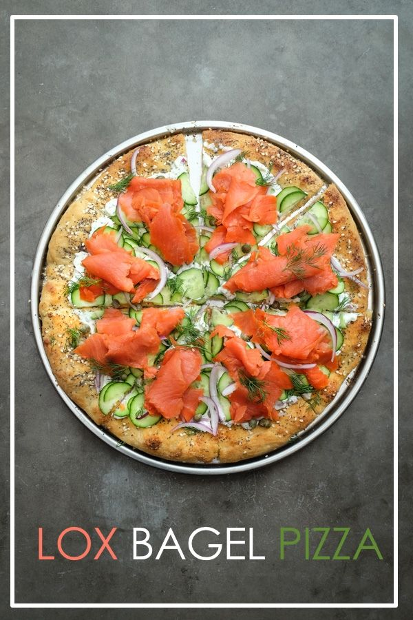 Lox-Topped Pizzas