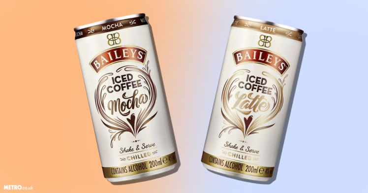 Alcoholic Iced Coffee Cans