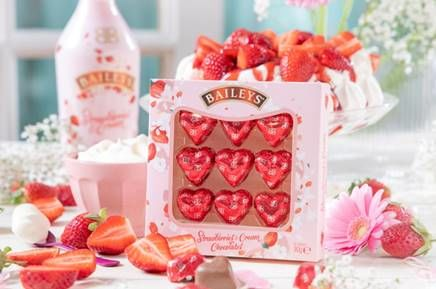 Romantic Alcohol Chocolates