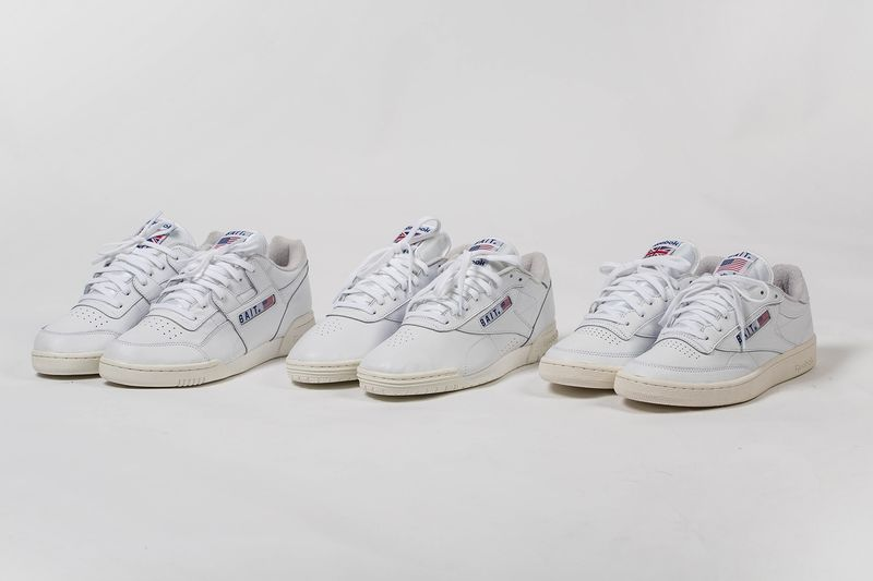 Co-Branded Retro Tennis Sneakers