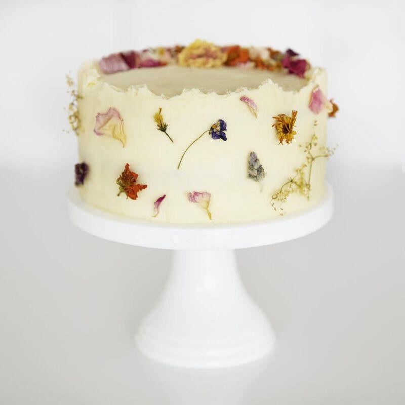 Edible Flower Cake Kits
