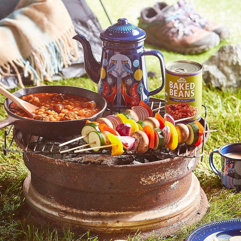 Vegan Burger Canned Beans