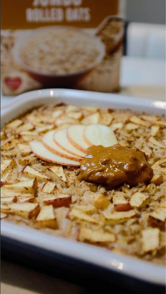 Dessert-Style Baked Oats