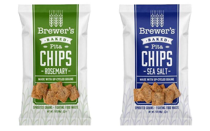 Upcycled Grain Pita Chips