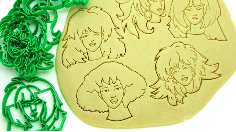 Songstress Cookie Cutters