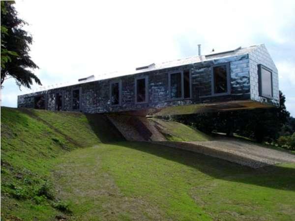 Hanging Hillside Homes