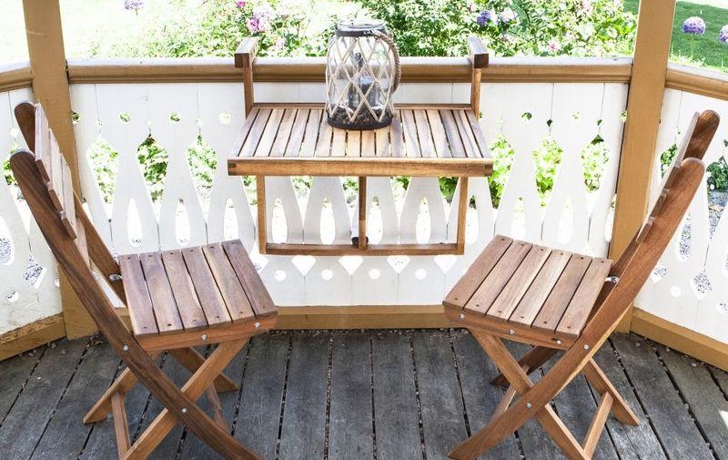 Balcony-Friendly Patio Furniture