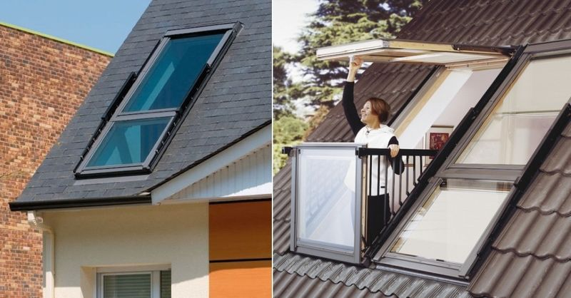 Balcony Skylight Hybrids