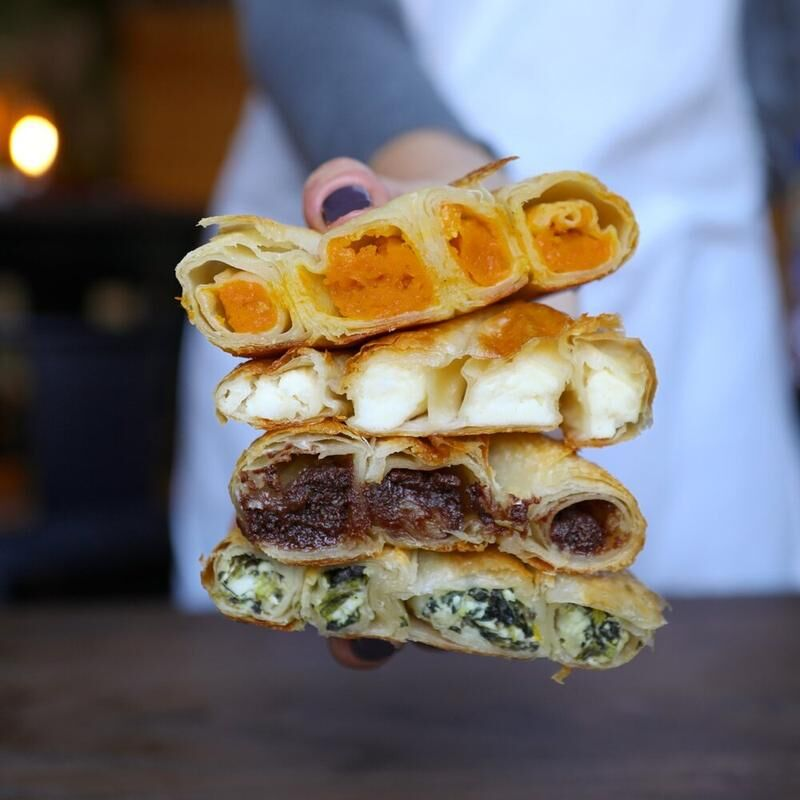Savory Stuffed Pastries
