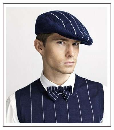 Dapper Pinstriped Fashion