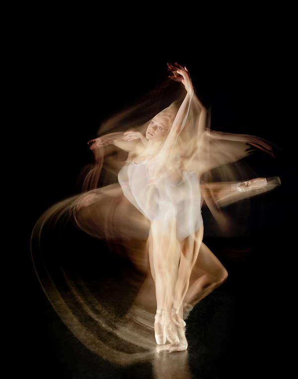 Blurred Ballet Photography