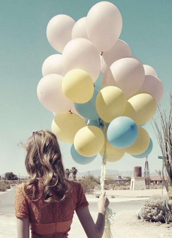 70 Whimsical Balloon Photoshoots