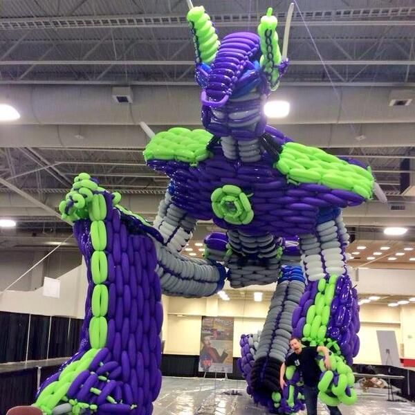 Robot Balloon Sculptures
