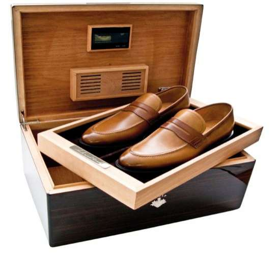 Multipurpose Cigar Compartments