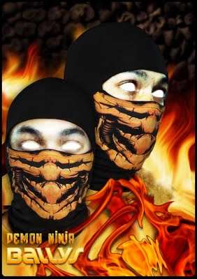 Ninja Face Masks