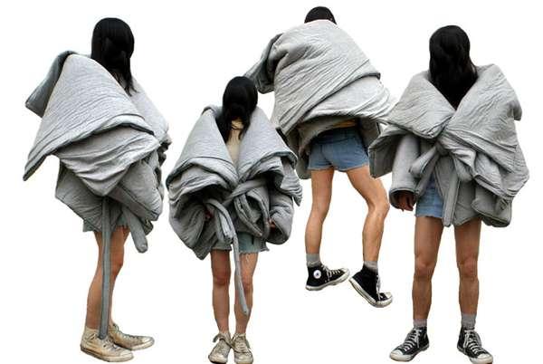 Puffy Duvet Jackets