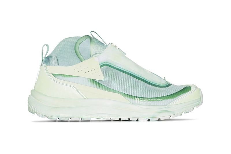 Mint Green Chunky Sneakers