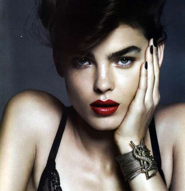 Bold Eyebrow Editorials Bambi Northwood Blyth Harper S