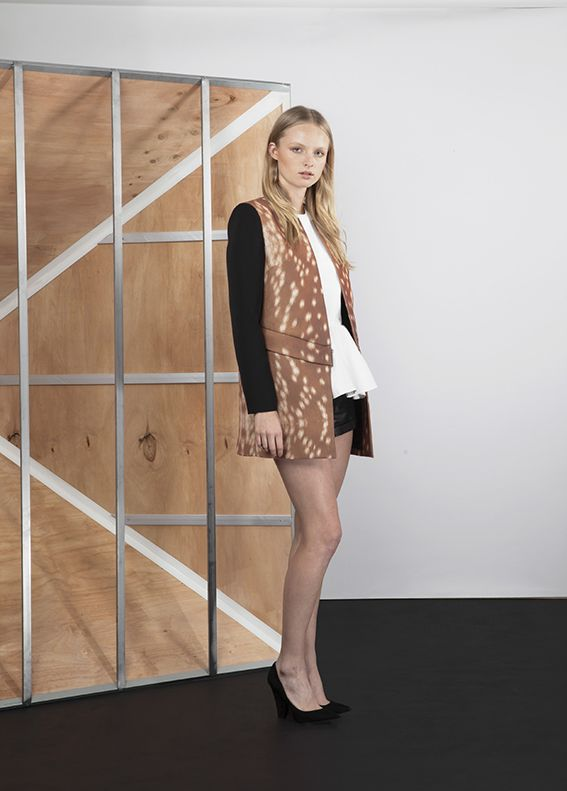 Fawn-Printed Fashion