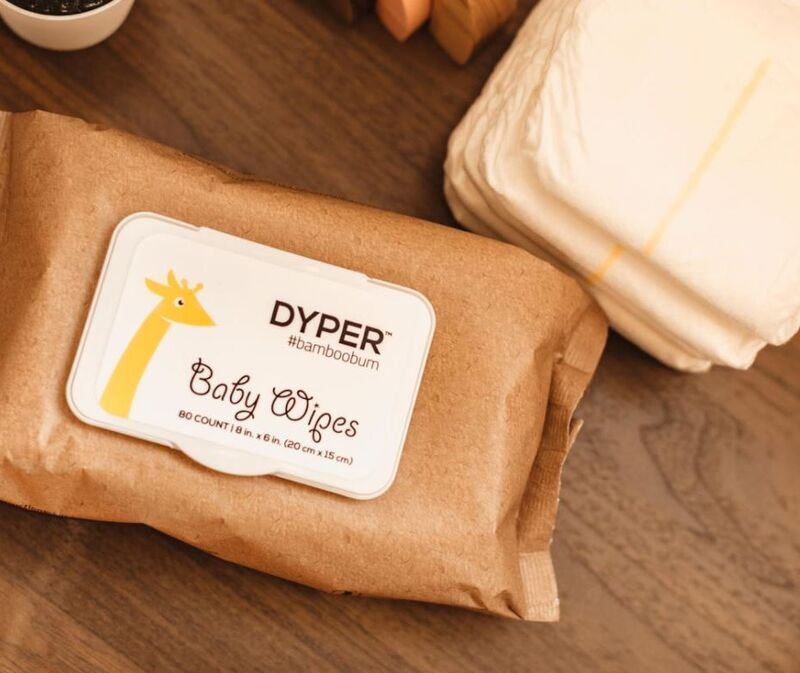 Eco Water-Based Baby Wipes