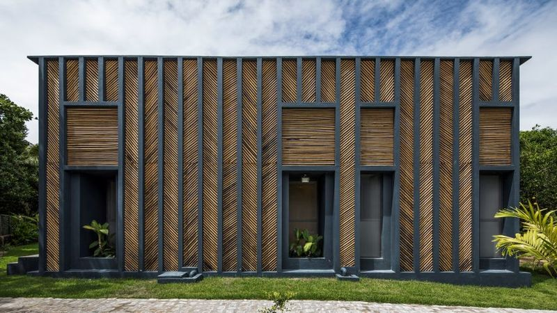 Single-Storey Bamboo Homes