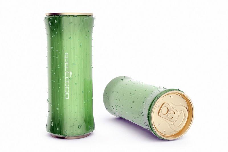 Literal Bamboo Beverage Branding