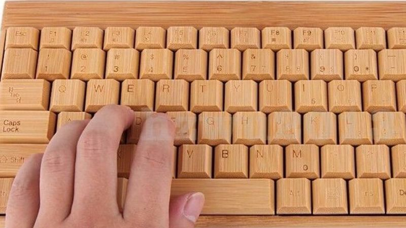 Calming Bamboo Keyboards
