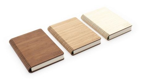 Refillable Bamboo Notebooks